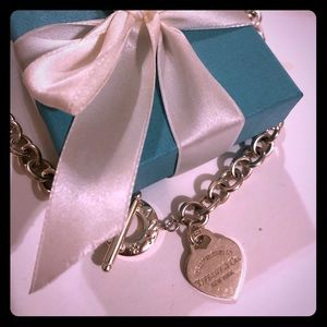 Tiffany and Co. Heart Tag Toggle Necklace